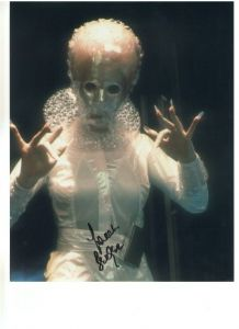 "Rare Signed 10 x 8 Photograph of Sarah Berber ""Rost"" from Attack otf the Cybermen"